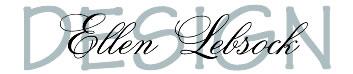 Ellen Lebsock Design Logo