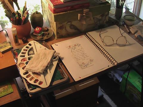 my cottage studio