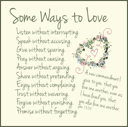 ways 2 love